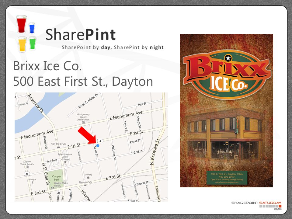 SharePoint Saturday Dayton has been made possible because of generous sponsorship from the following friends…