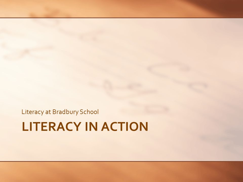 Literacy Year 1 Speaking & Listening Reading Writing