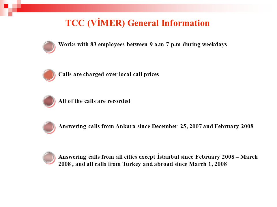 Before After TCC (VİMER) Activities Alo Public Finances 189 TCC 444 0 189 Denunciation Taxpayer's grievance Denunciation Taxpayer's grievance İnformation Learning of MVT dept