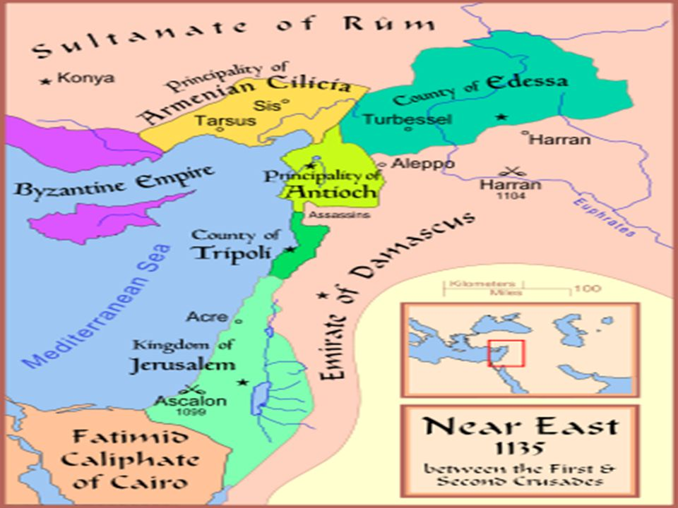 2 nd Crusade 1147-1149 Nur ad-Din Louis VII of France Stronger Muslim armies begin to unify and only a few hundred knights remain.