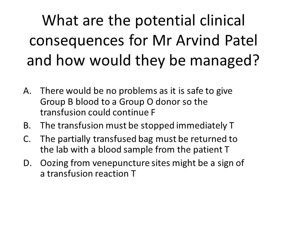 Blood Groups Blood Group Antibodies AAnti-B BAnti-A ABNone OAnti-A Anti-B RhD positive or RhD negative A O AB B