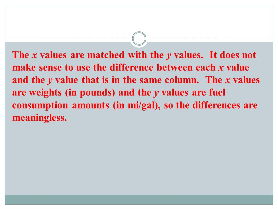 b) Given the context of the car measurement data, what issue can be addressed by conducting a statistical analysis of the values.