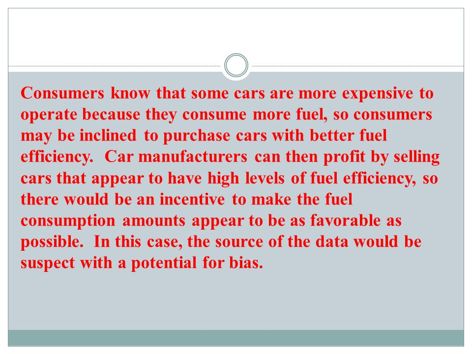 d) If we use statistical methods to conclude that there is a correlation (or relationship or association) between the weights of cars and the amounts of fuel consumption, can we conclude that adding weight to a car causes it to consume more fuel.