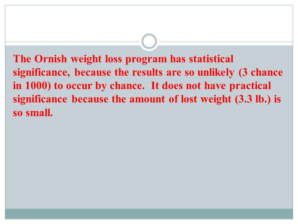 Example 3: Form a conclusion about statistical significance.