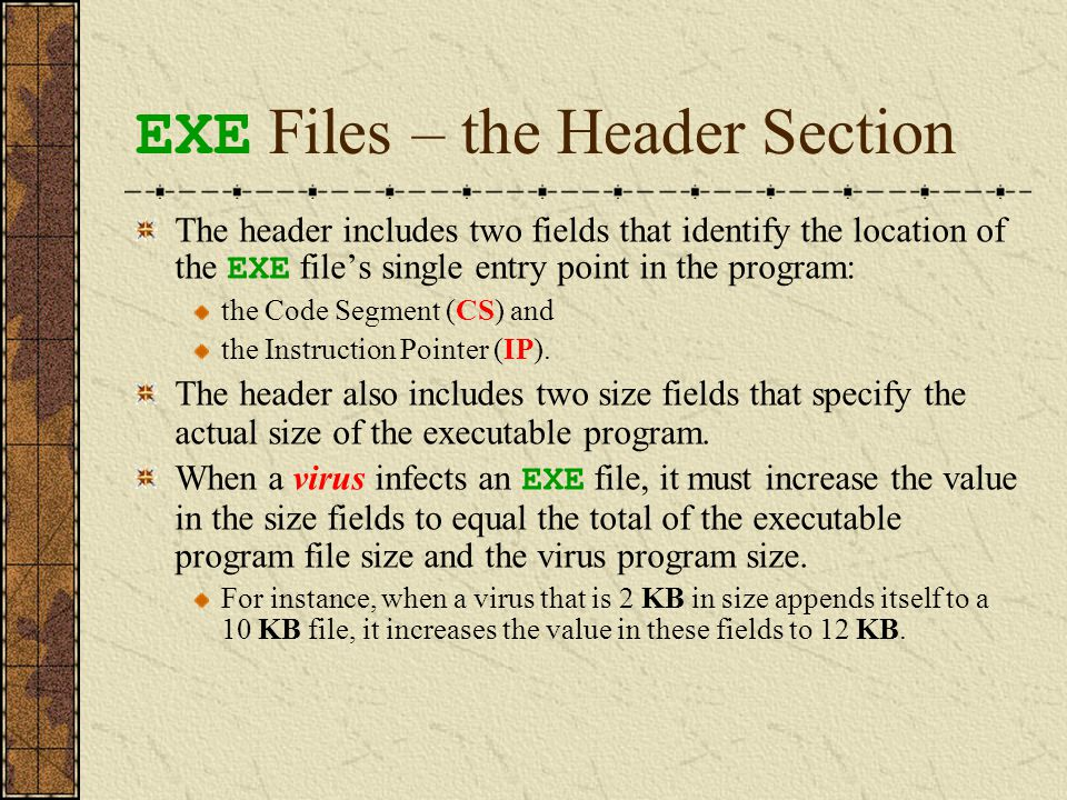 How an EXE File Is Loaded into RAM and Executed overlay data
