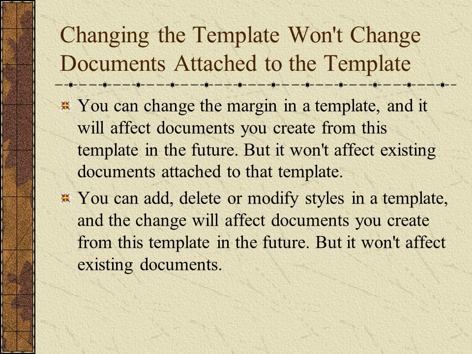 What Happens after a Document Is Born, While It Is Being Edited.