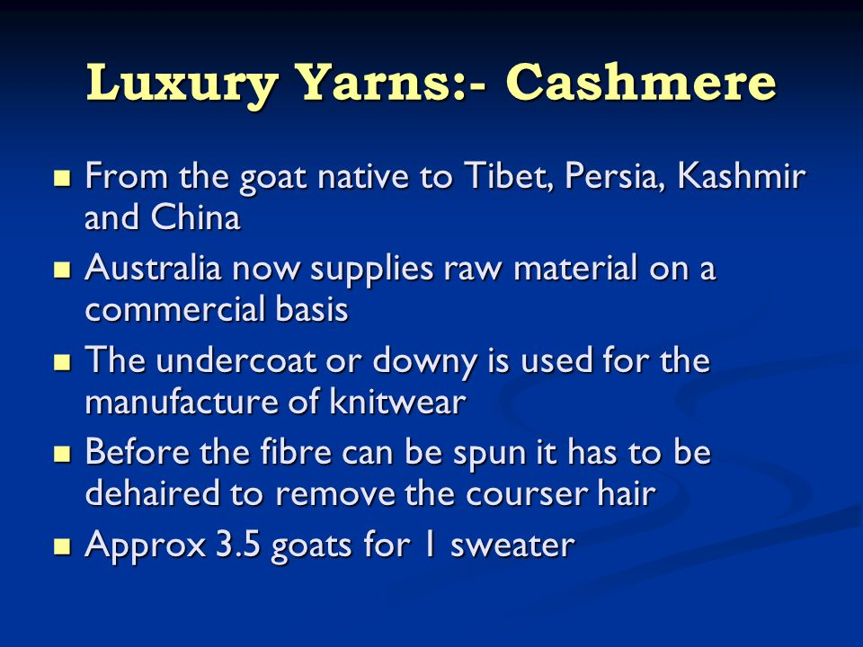 Luxury Yarns:- Lamora A blend of extra fine Merino wool and Angora from the Angora rabbit farmed mainly in China A blend of extra fine Merino wool and Angora from the Angora rabbit farmed mainly in China Angora: One of the finest of animal fibres.