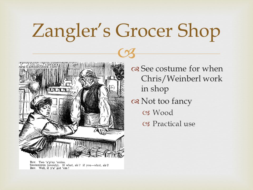  Zangler's Grocer Shop  Till  The bars would be guilded  Rest of shop will have similar woodwork