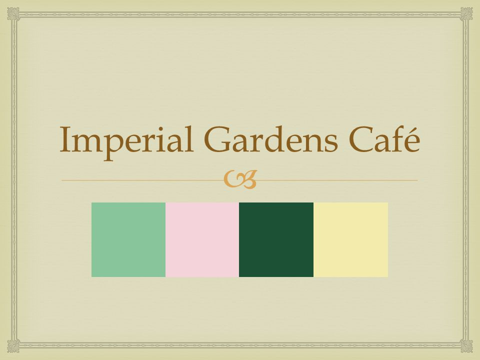   1854 Crystal Palace  Inspiration for atrium of café  Glass enclosed – able to see foliage, plants, sky