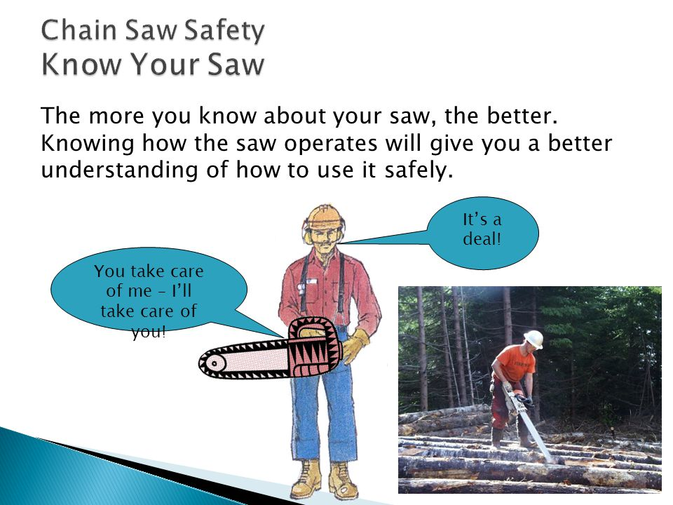 First, consider the type and size of saw you need.