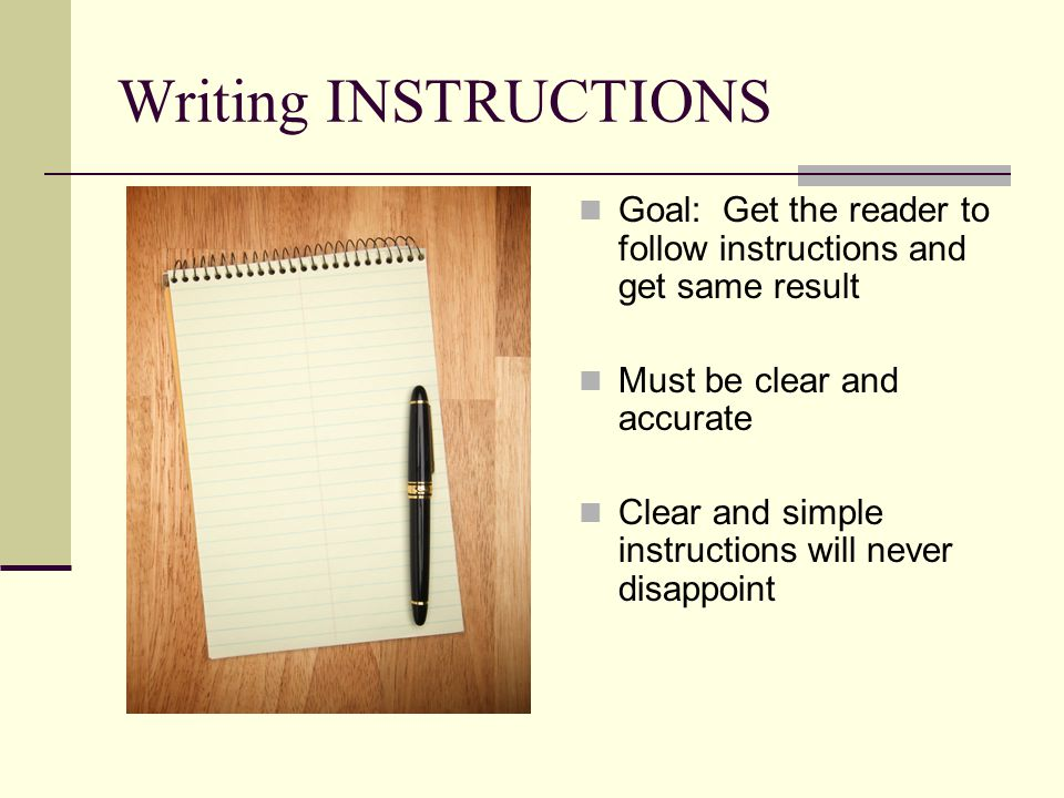 4 Must-Have Sections Introduction List of Materials/Equipment Steps Conclusion