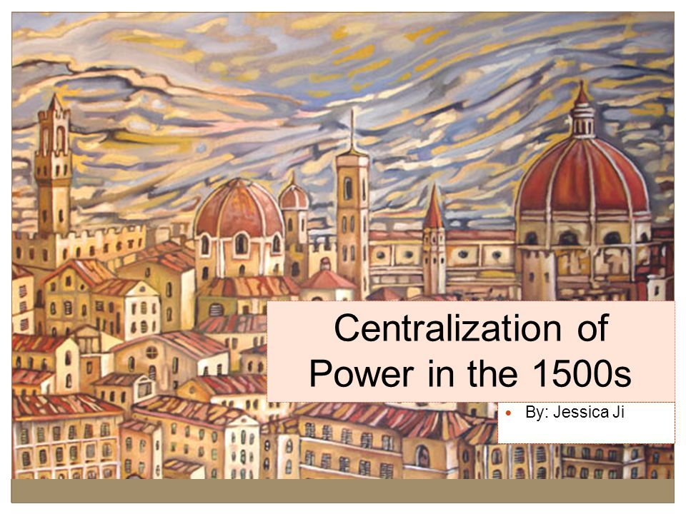 Background A centralization of power in four great states occurred along side the Age of Exploration in the 16 th century.