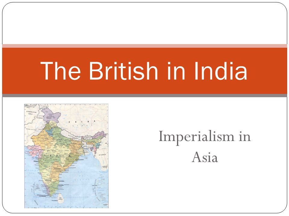 British Imperialism What does this mean?