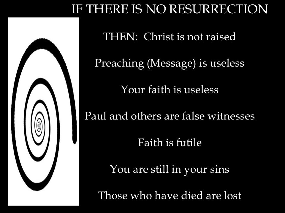 1. Christ has indeed been raised from the dead!!!