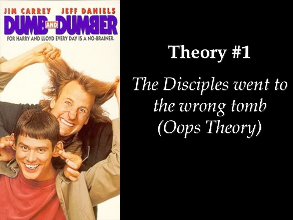 Theory #2 The Hallucination Theory