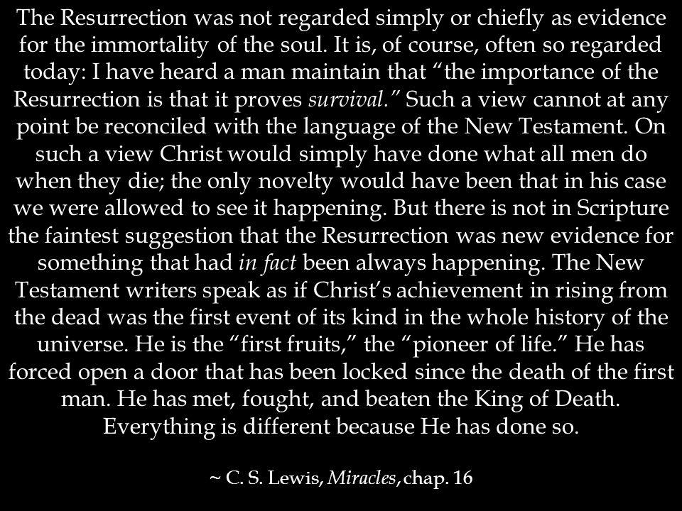 2. The benefits of Christ's resurrection b. Christ undoes what Adam did