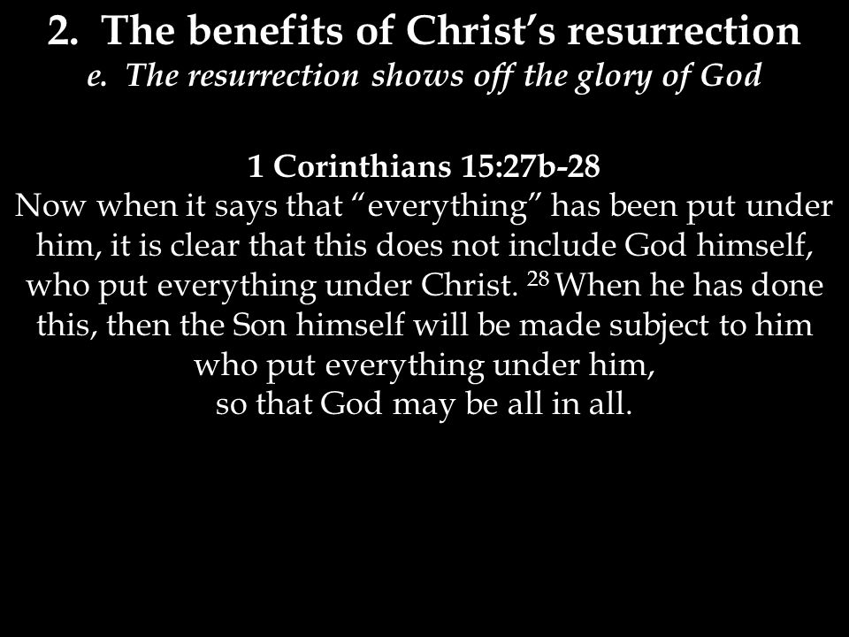 3.Three refutations 1 Corinthians 15:29-32 29 Now if there is no resurrection, what will those do who are baptized for the dead.