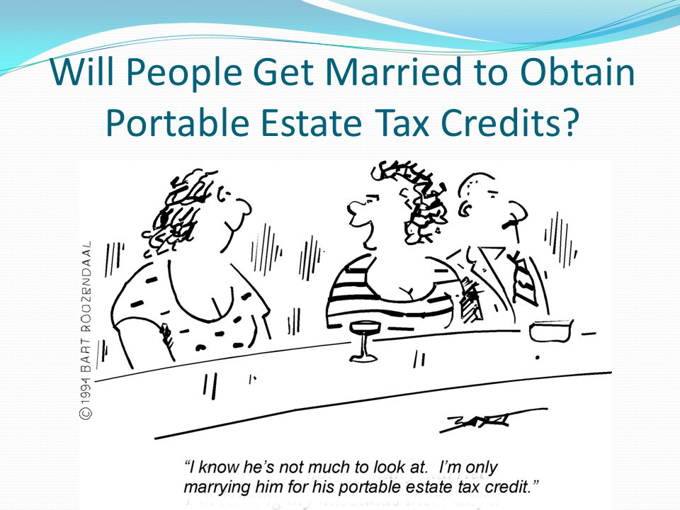 Estate Tax Return for First Spouse Executors must make elections on estate tax returns (Form 706) for the first spouse to die or the survivor won't inherit portable exemption Even small estates should file 706 at first death, in case the surviving spouse later has a windfall (strikes oil, wins the lottery, etc.)