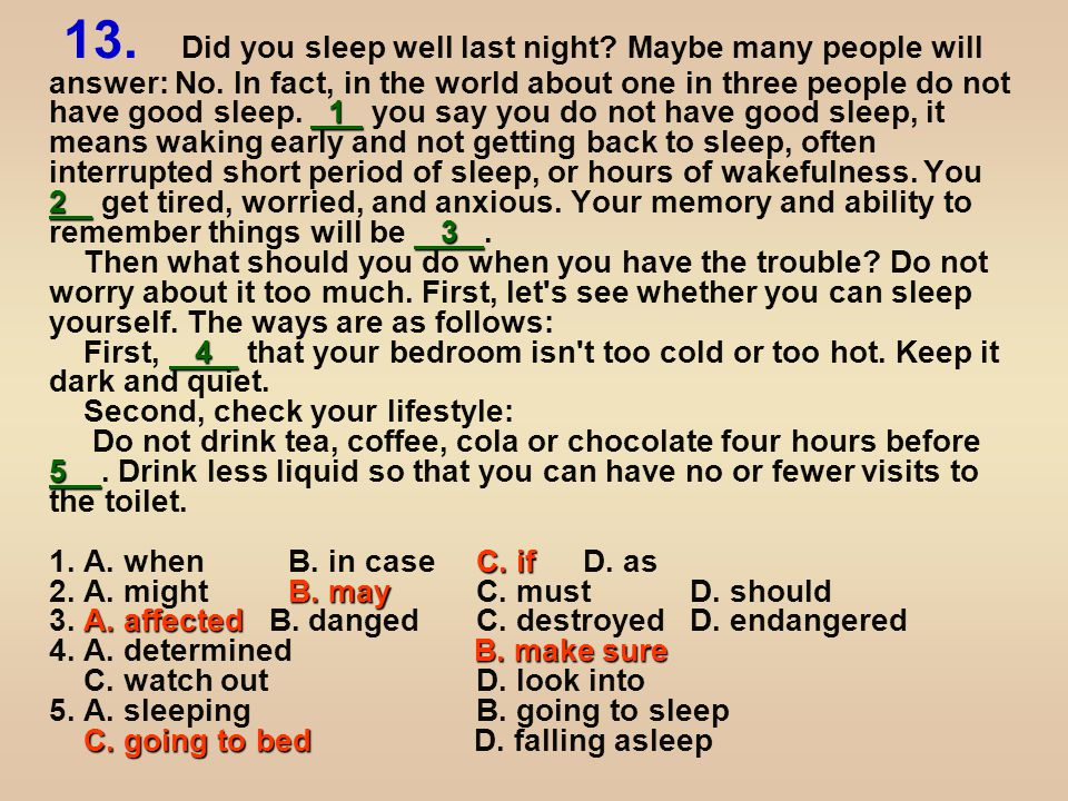 6 Set your body clock well by getting up and going to bed at the fixed time every day.