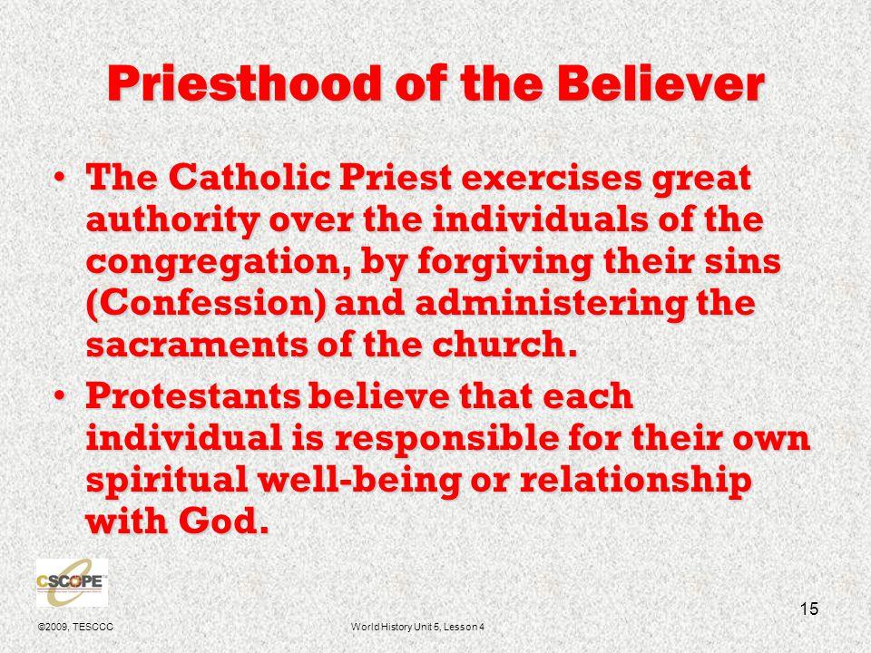 ©2009, TESCCCWorld History Unit 5, Lesson 4 16 Calvinism