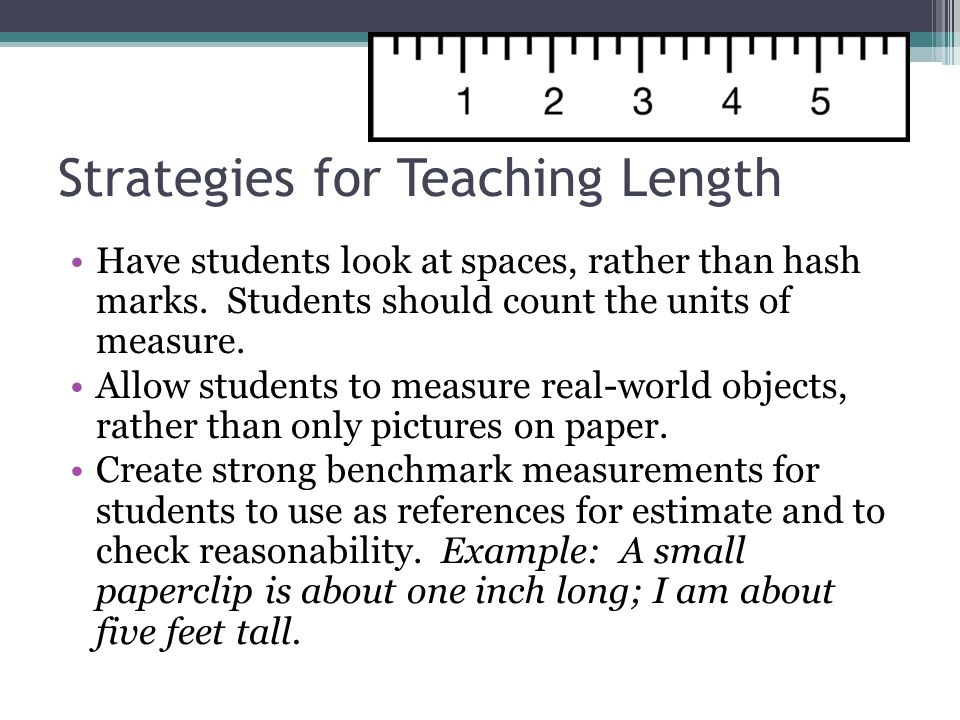 Strategies for Teaching Perimeter Unroll the sides of a shape by drawing a line segment by tracing the length of each side of the figure.