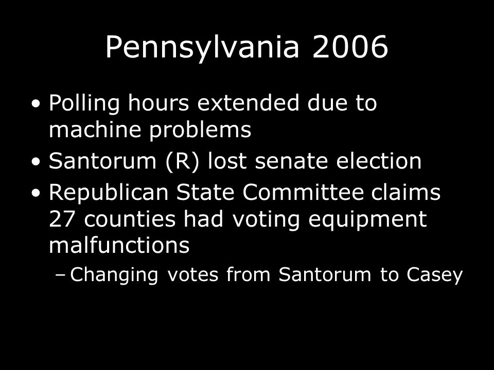 www.sbe.virginia.gov/cms/Election_Information/Election_Procedures/Index.html How do I know my voting equipment is accurate.