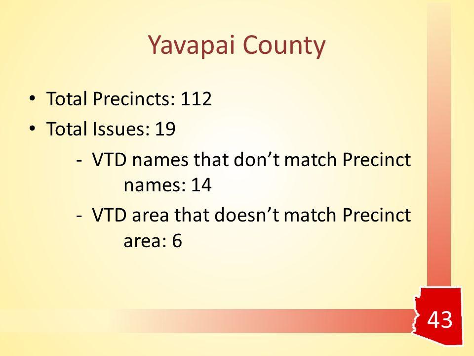 Yavapai County (continued) 44