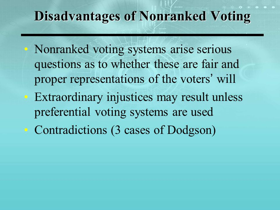 Case 1 of Dodgson Contradiction in simple majority: Candidate A and B