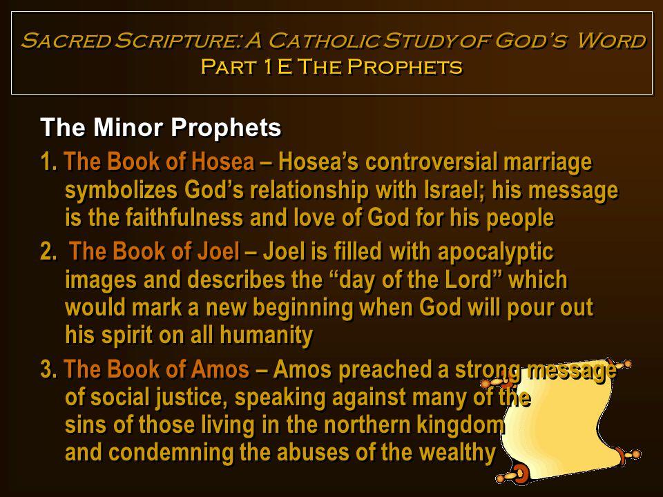 The Minor Prophets 4.