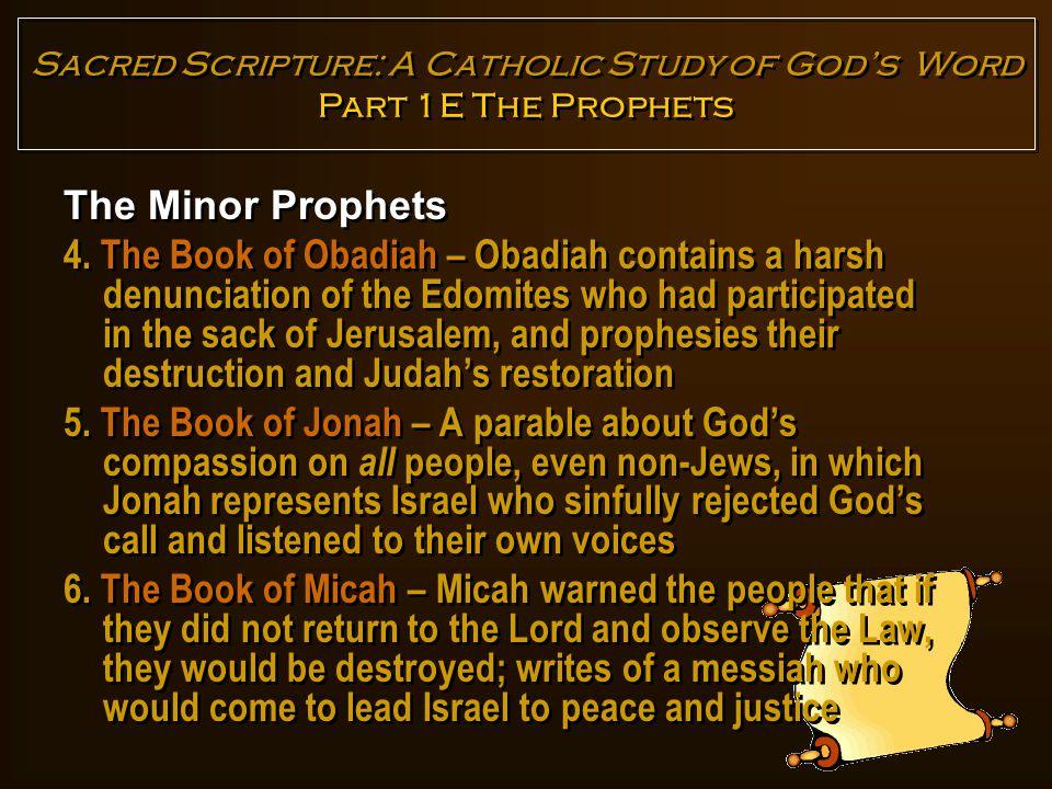 The Minor Prophets 7.