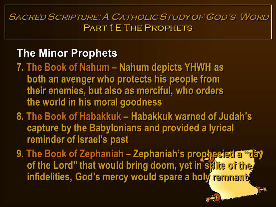 The Minor Prophets 10.
