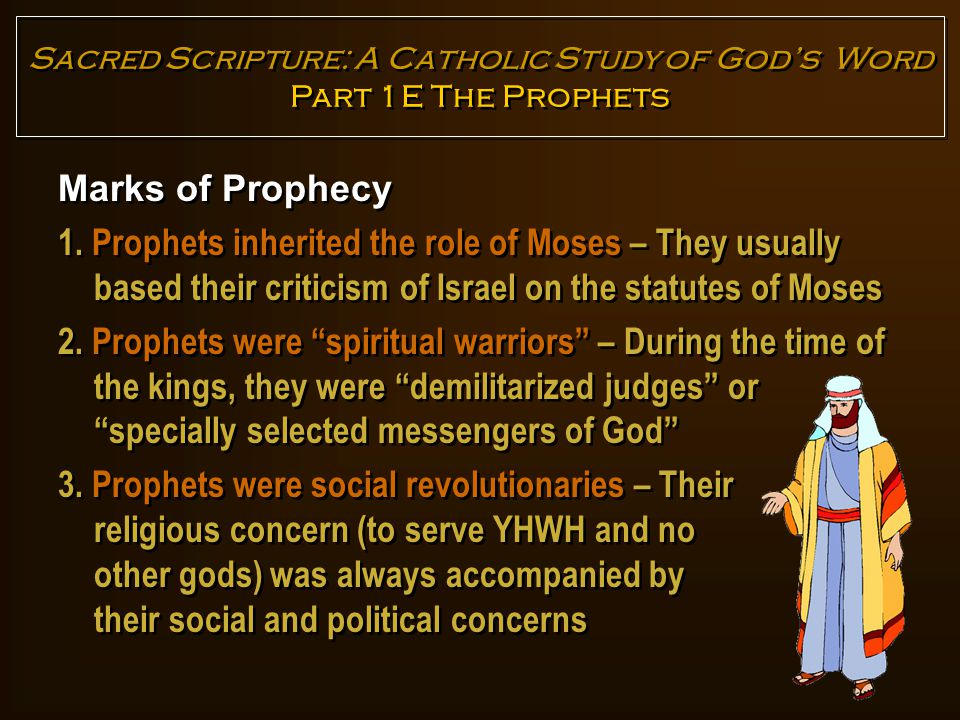 Marks of Prophecy 4.