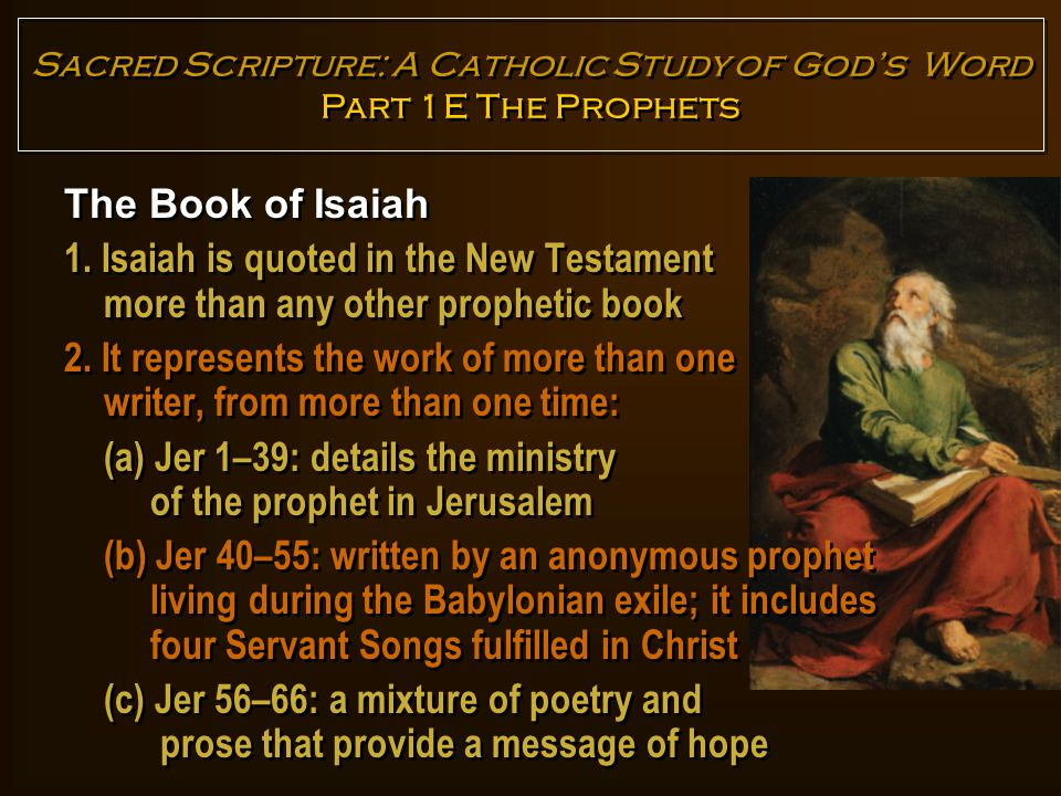The Book of Jeremiah 1.