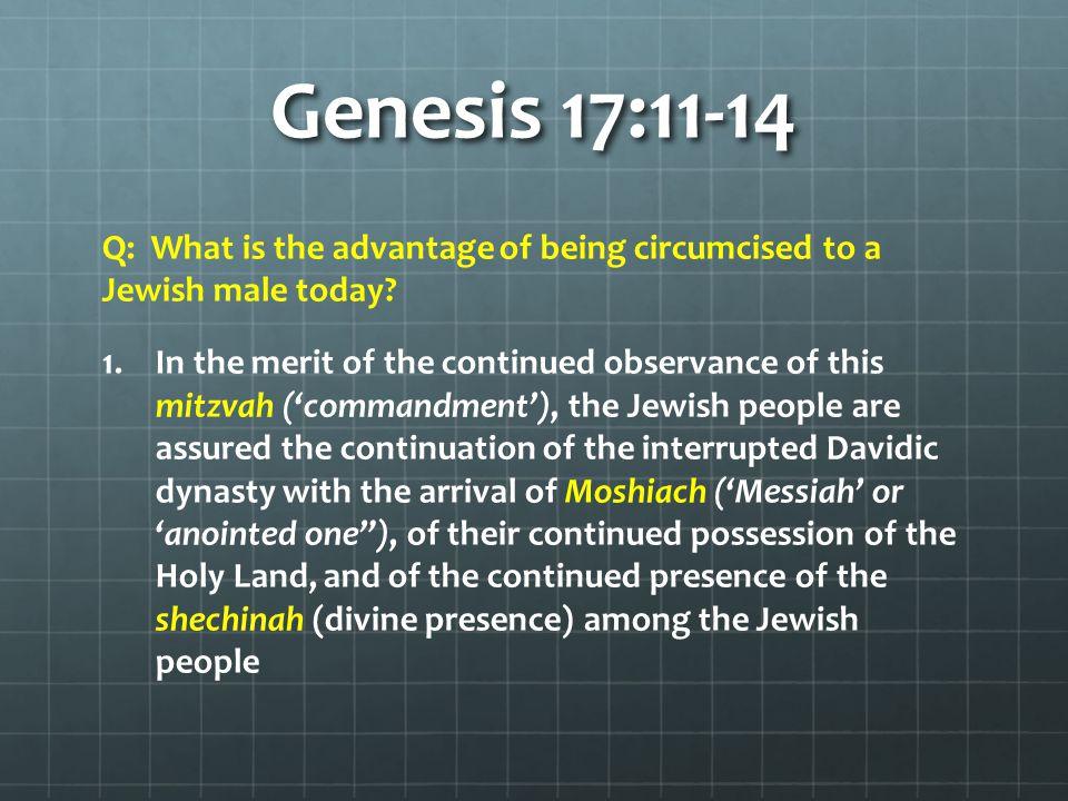 Genesis 17:11-14 2.