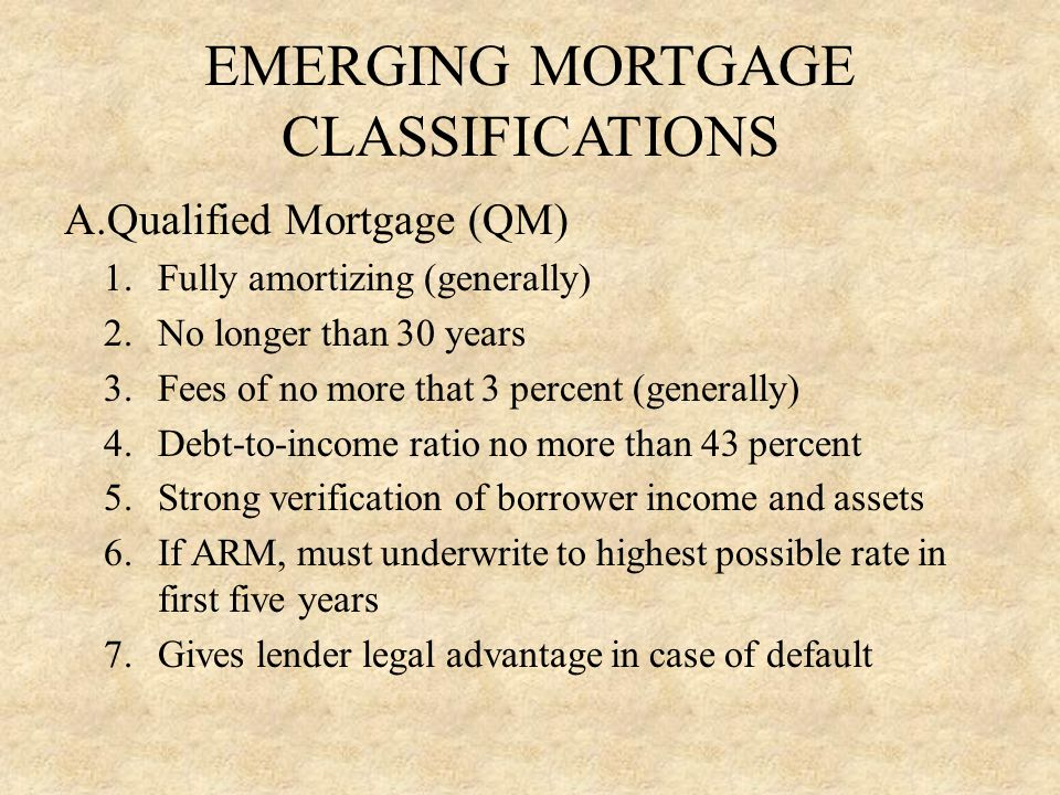 HOMEWORK ASSIGNMENT A.Key terms: Collateral, Credit Scoring, Disintermediation, Housing Expense ratio, Interest rate Risk, Loan Underwriting, Pipeline Risk, Qualified Mortgage, Total Debt Ratio B.Study Questions: 1, 2, 4, 9 (all parts)