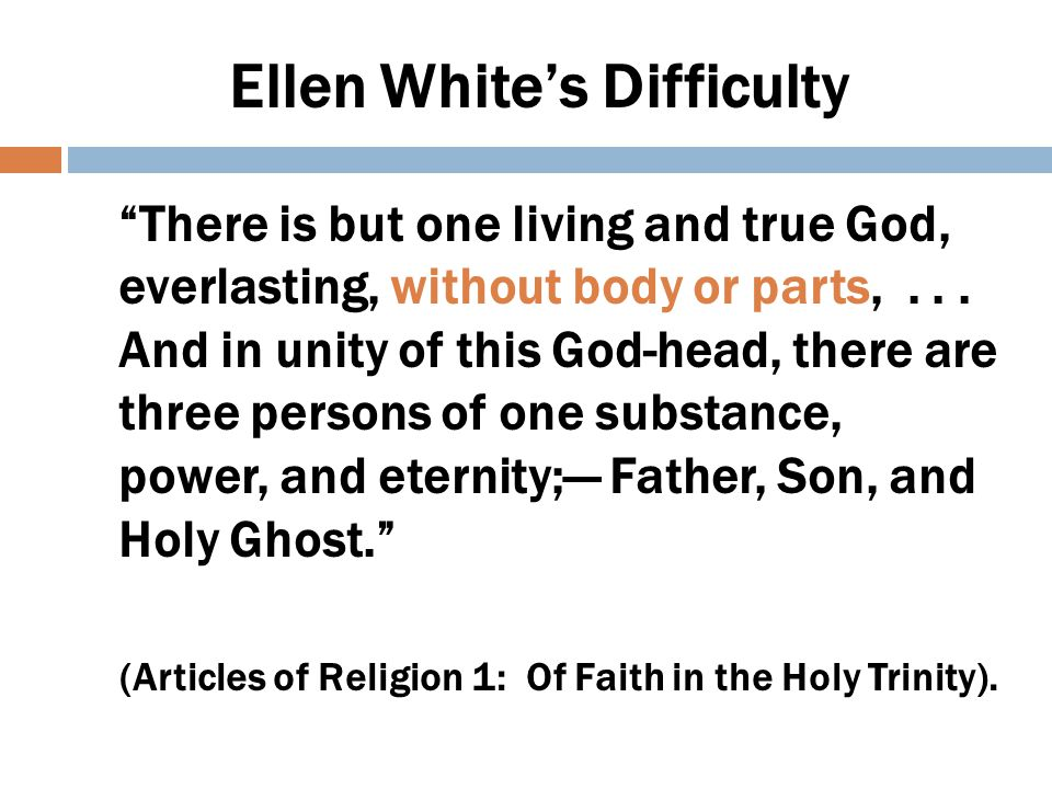 Reasons for Rejecting Trinity  Spiritualized God too much – made God unreal  How could immortal God die on Cross and still be immortal?