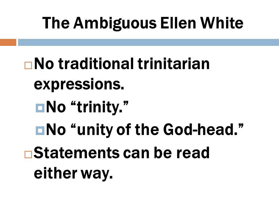 EGW Godhead Terminology  The three great powers of heaven.