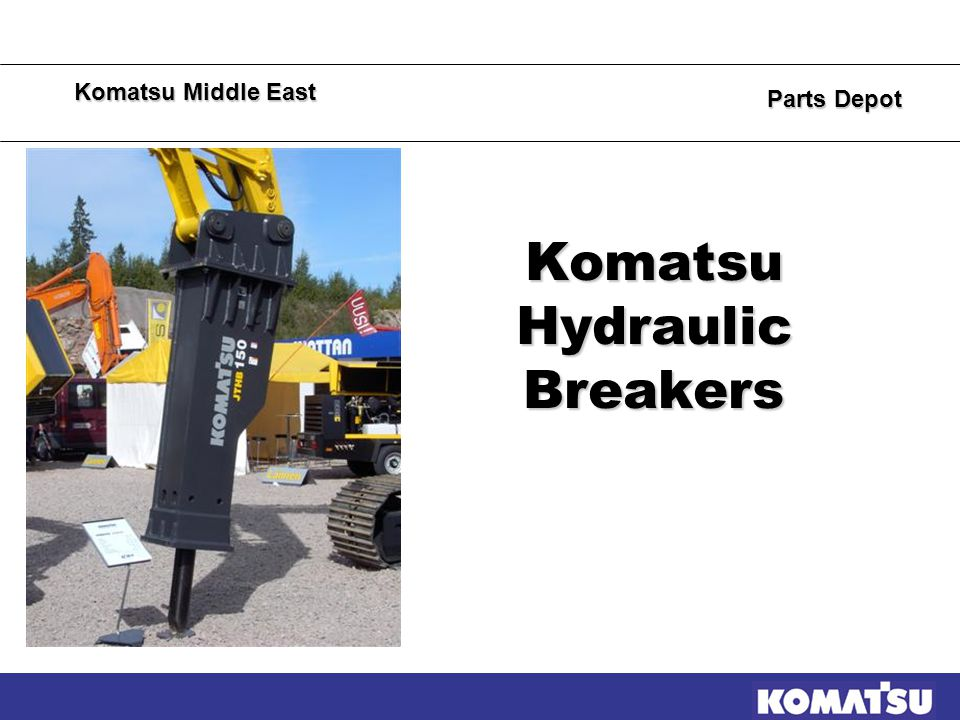KME Parts Depot  Constructions  Mines  Quarries  Utility,inside cities Applications Hydraulic breakers