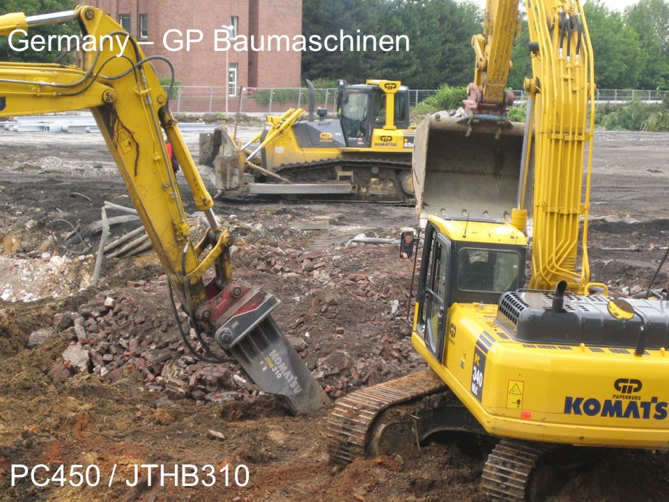 KME Parts Depot Germany – GP Baumaschinen PC450 / JTHB310
