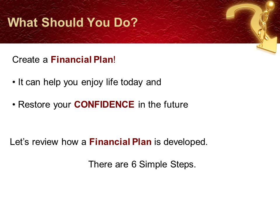 Step 1: Goals - Goals - Goals We'll begin with a conversation about your Goals.