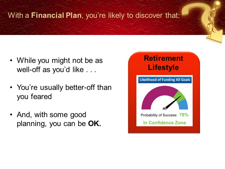 Your Financial Plan Should Cover Tax Planning Risk Management Asset Management Retirement Planning Estate Planning Your CPA is the key to the relationship, in partnership with HKFS