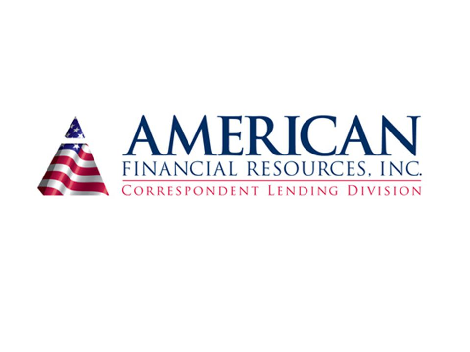 Doing business with American Financial Resources, Inc As a C (Correspondent) As a CDE (Correspondent Delegated)