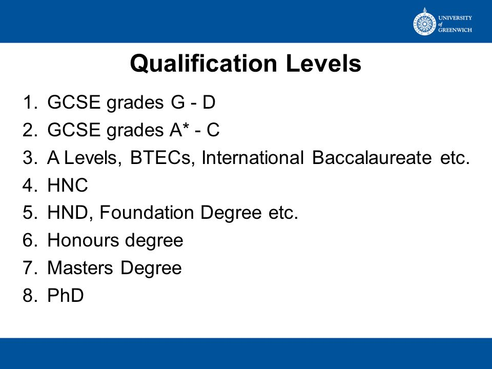 Qualifications recorded Currently have 231 codes in BANNER 142 Level 3 126 sent to HESA