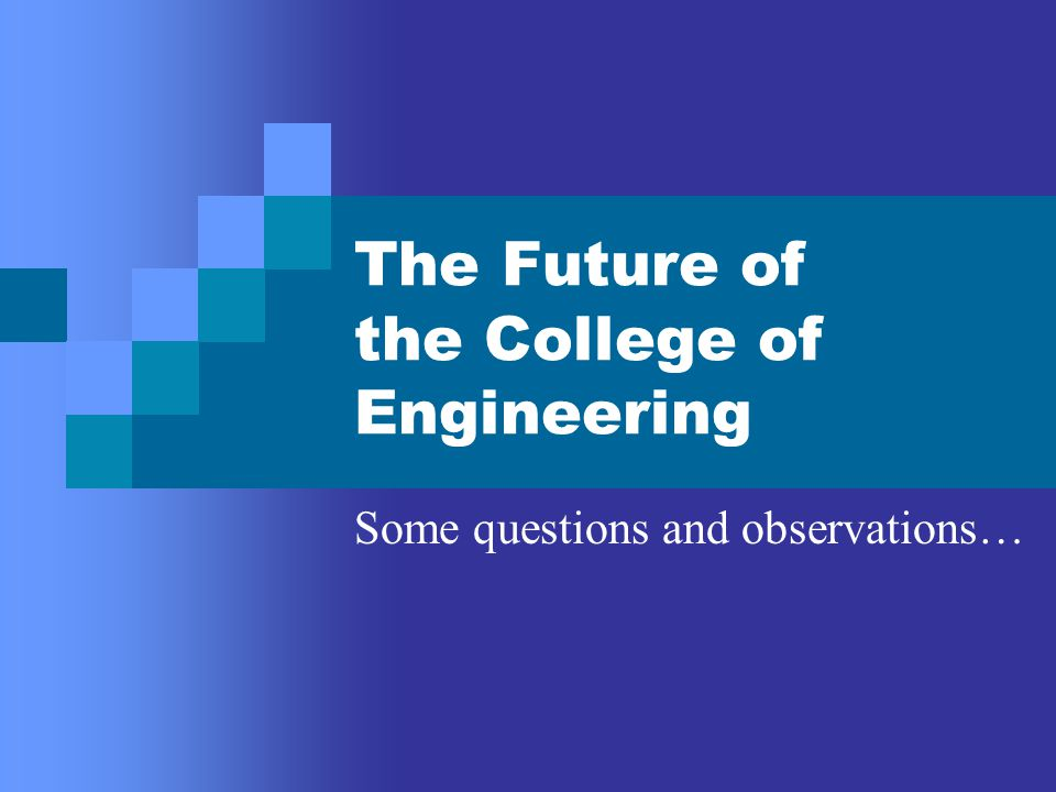 First, some questions: Is the current instructional, research, and service load on the Engineering faculty realistic.