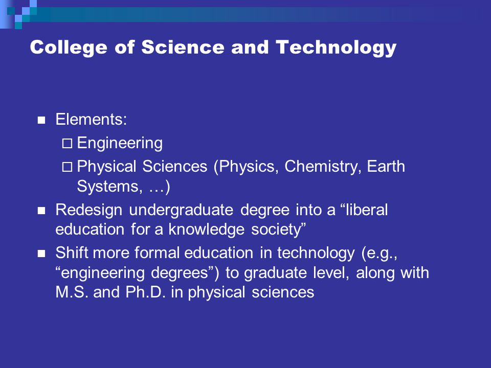 School of Engineering All degrees at the graduate level (with the M.S.E.