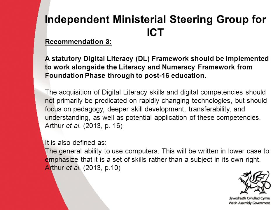 Assessment In order to achieve the qualification in Essential Digital Literacy Skills at Entry Level 1 to Level 3, learners must demonstrate that their skills meet national standards in both: a controlled task, and a short professional discussion.