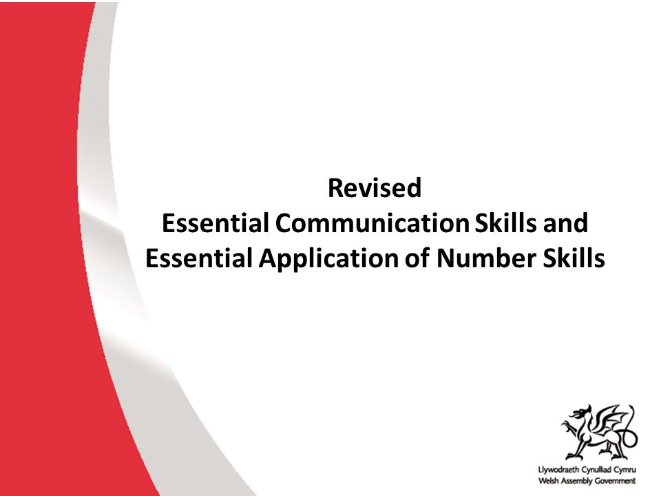 Essential Skills Wales Concerns from the Review of Qualifications 2012 The portfolio approach to compiling evidence is widely criticised as burdensome and repetitive.