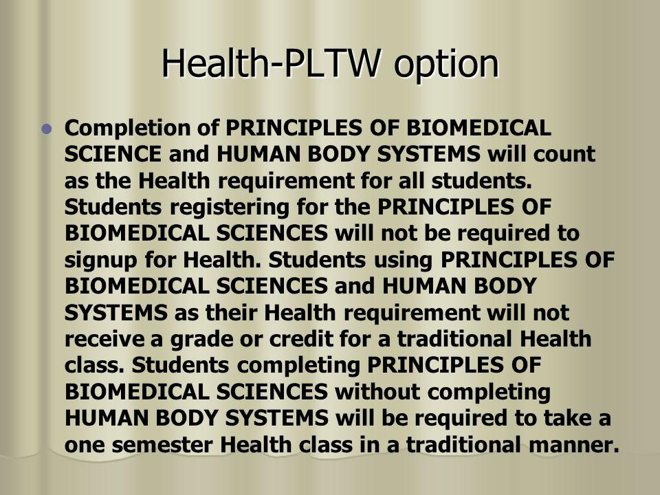 P.E.All students are required to obtain 2 PE credits for before graduation P.E.
