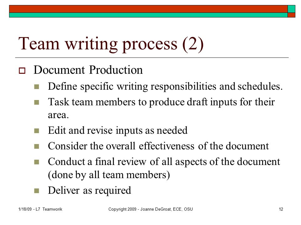 Tools assist team documentation  Software systems are now in place to assist teams in generating team documentation.