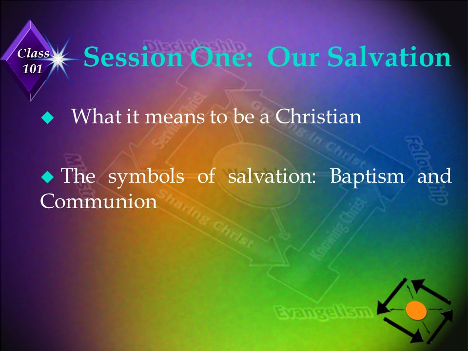 Class 101 Session Two: Our Statements u Our Purpose Statement u Our Faith Statement u Our Lifestyle Statement